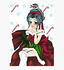 Mrs. Santa Photographic Print