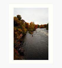 Salmon River - Pulaski, NY Art Print