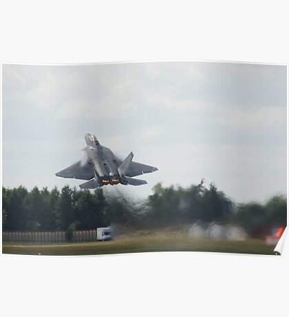 Raptor rips the Sky Poster