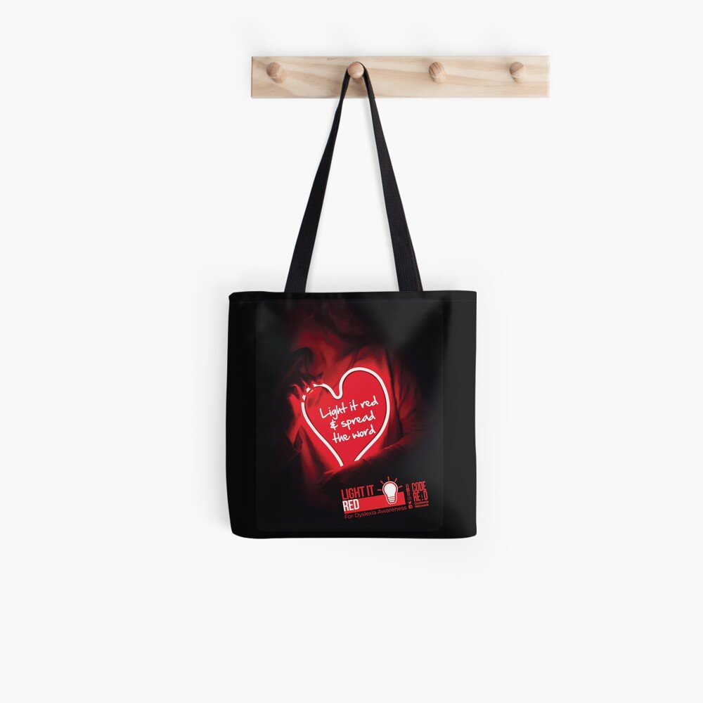 Light it red & spread the word Tote Bag