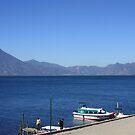 Panajachel Boat Dock by Don Rankin
