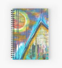 Mountain Home for the Heart: Inner Power Painting Spiral Notebook