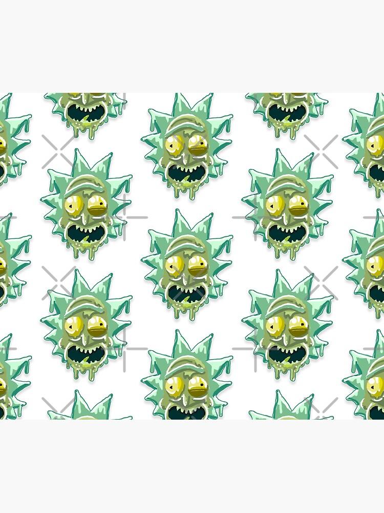 Toxic Rick aka Gunk Rick from Rick and Morty™ by sketchNkustom