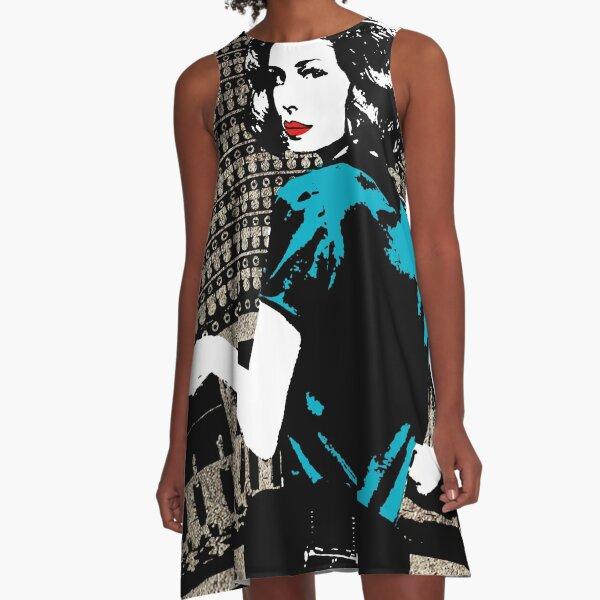 Cable Girls Las Chicas Del Cable - Lidia Aguilar Retro A-Line Dress