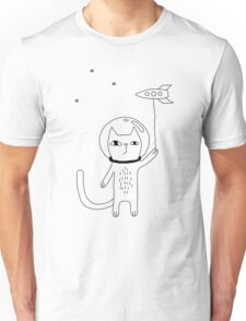 Space Cat Unisex T-Shirt