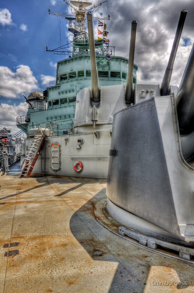 HMS Belfast by timmburgess