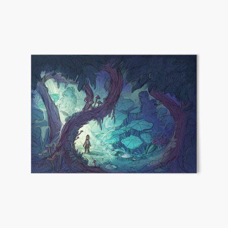 Overgrown - Lost Art Board Print