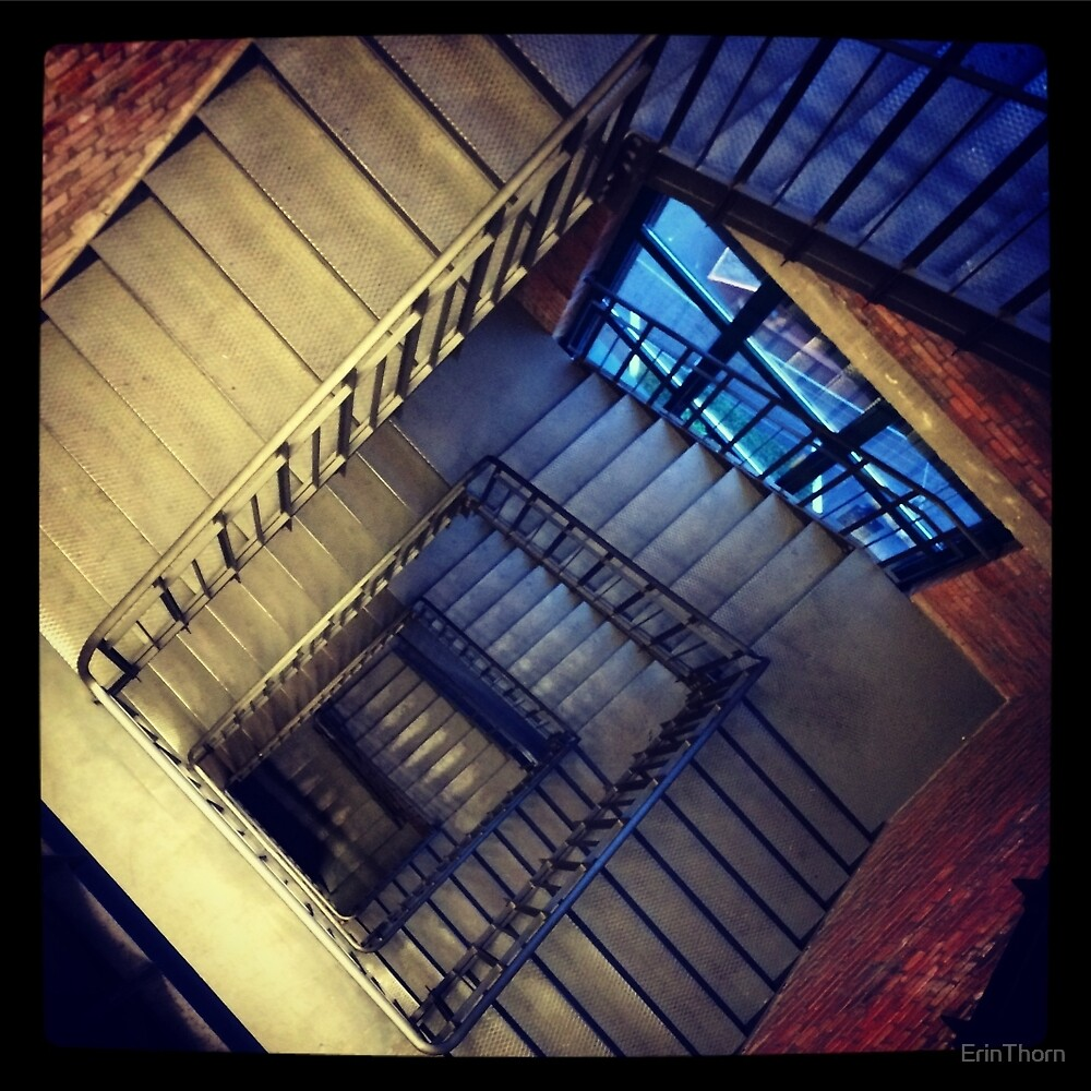 Endless stairs by ErinThorn