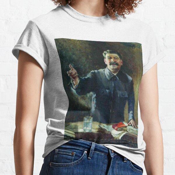 Художник Александр Герасимов Aleksandr Mikhaylovich Gerasimov was a leading proponent of Socialist Realism in the visual arts, and painted Joseph Stalin and other Soviet leaders. Classic T-Shirt