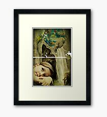 It's a Puzzle Framed Print