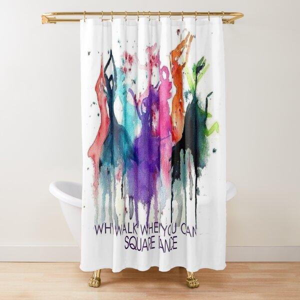 Why Walk Shower Curtain