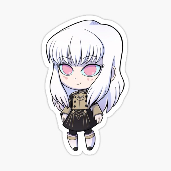 Lysithea - Fire Emblem Three Houses - Chibi Cutie Sticker