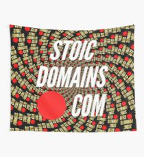 Stoic Domains - Com Wall Tapestry