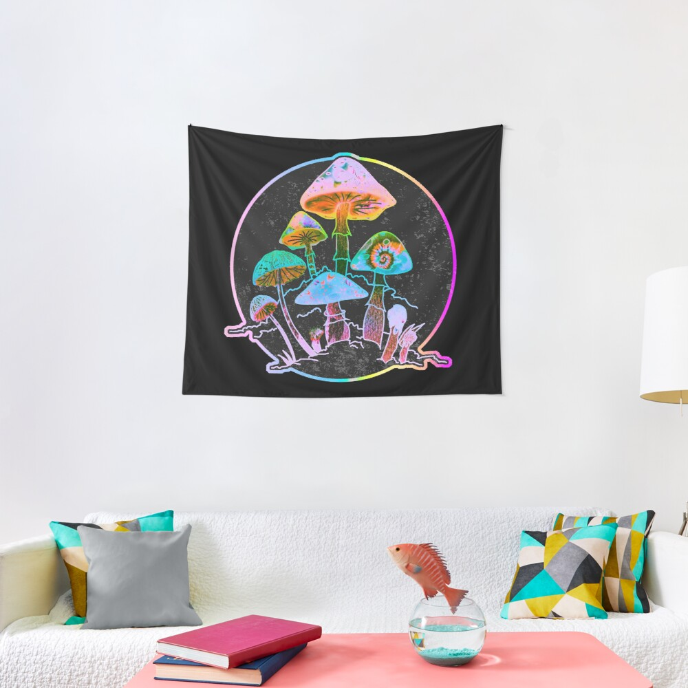 Garden of Shrooms 2020 Tapestry