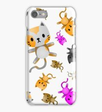 Kitten Juggling - So Many Cats iPhone Case/Skin