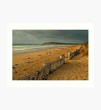 Morning Raafs Beach Art Print
