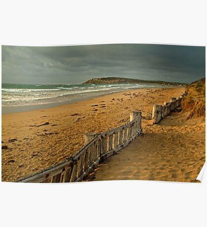 Morning Raafs Beach Poster