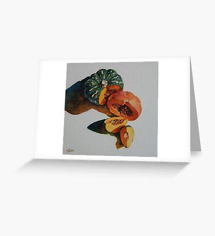 A Pair of Pumpkins Greeting Card