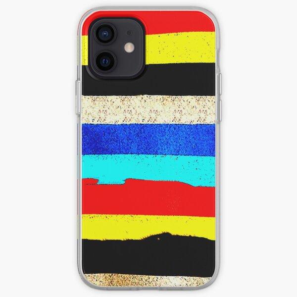 Colourful Horizontal Stripes  iPhone Soft Case