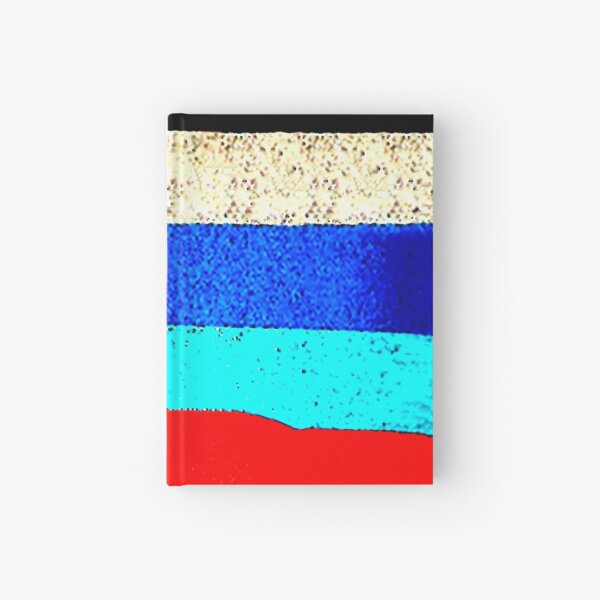 Colourful Horizontal Stripes  Hardcover Journal