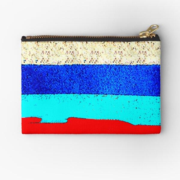 Colourful Horizontal Stripes  Zipper Pouch