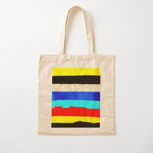 Colourful Horizontal Stripes  Cotton Tote Bag