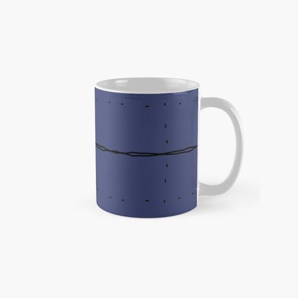 Graph Paper - Large Navy Classic Mug