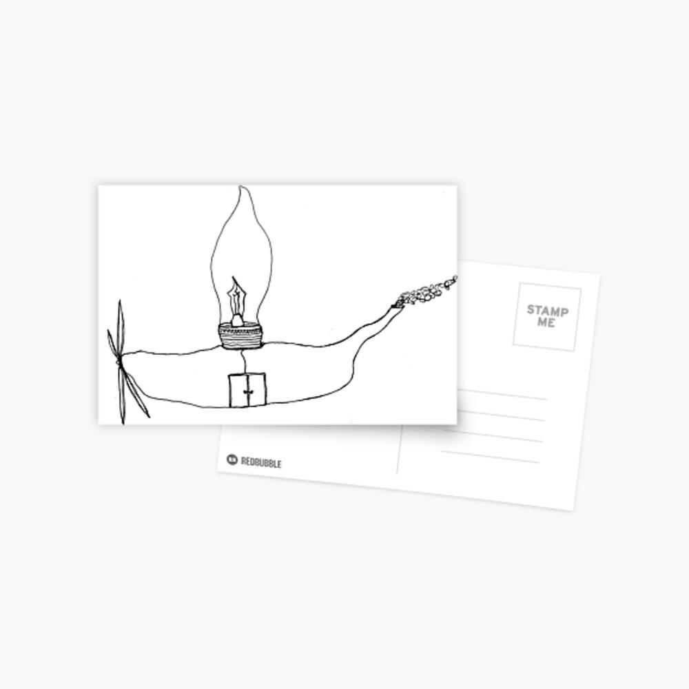 I Wonder Ship Postkarte