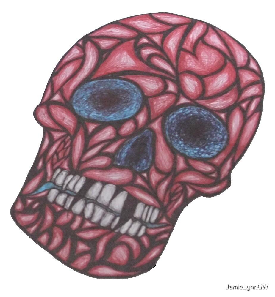 Head Ake - Pen & Ink by JamieLynnGW