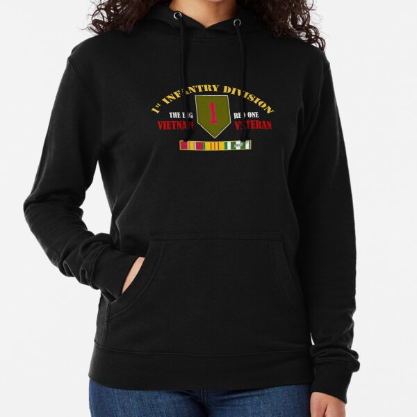 2nd Infantry Division Iraq Veteran Decal Womens Long Sleeve Sweatshirt Blouse Hooded Pullover Shirt