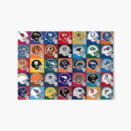 NFL USA Art Board Print
