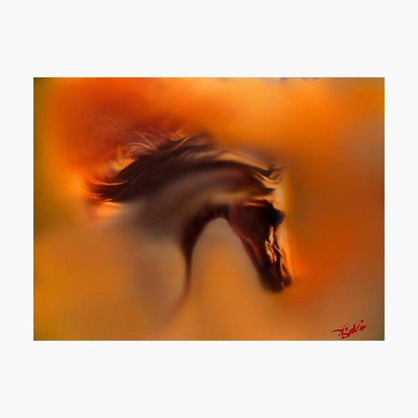 Horse of the Sun Photographic Print