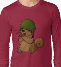 squirrel II Long Sleeve T-Shirt