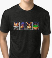 Team Star Fox Tri-blend T-Shirt