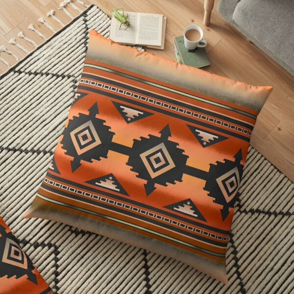Canyon | Navajo Rust Floor Pillow
