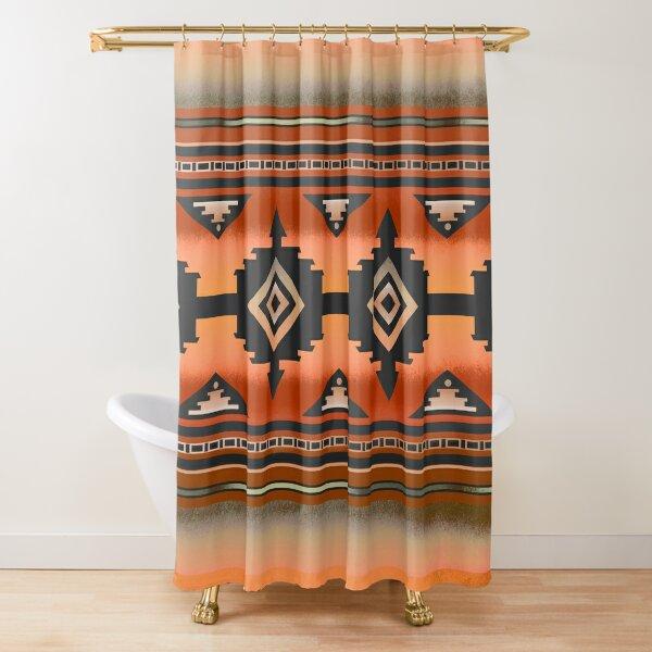 Canyon | Navajo Rust Shower Curtain