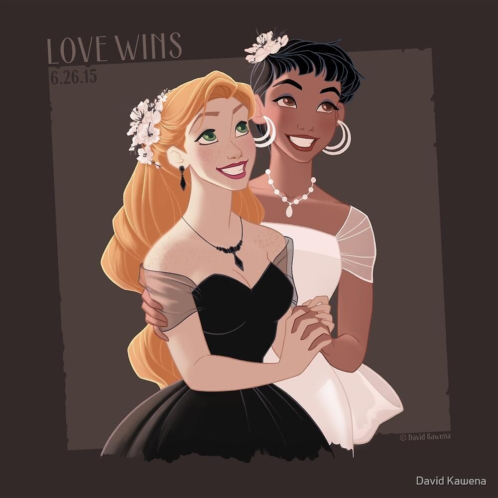 LOVE WINS 02 by David Kawena
