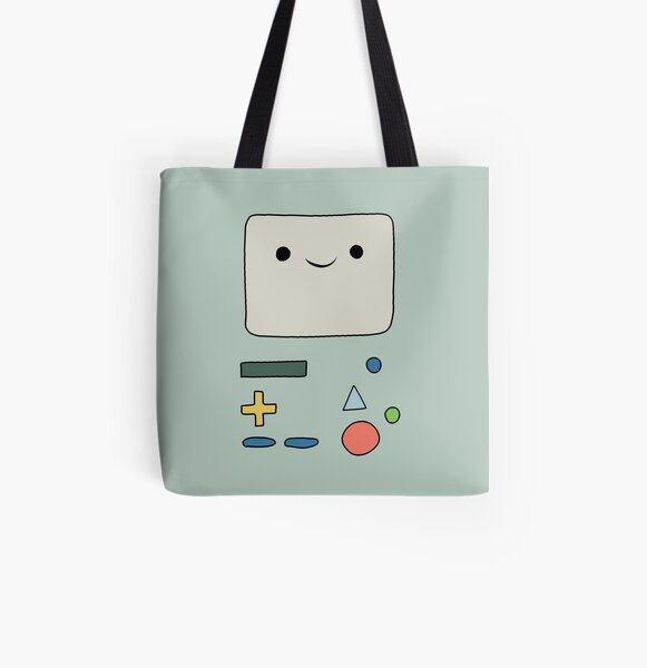 Beemo - Adventure time All Over Print Tote Bag