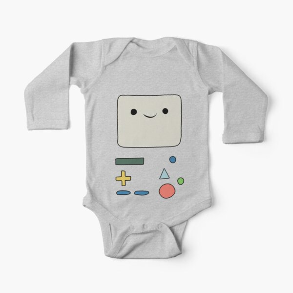 Beemo - Adventure time Long Sleeve Baby One-Piece
