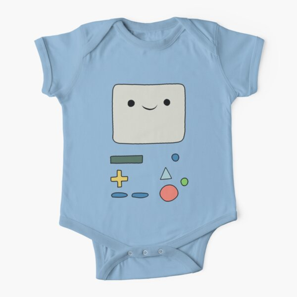Beemo - Adventure time Short Sleeve Baby One-Piece