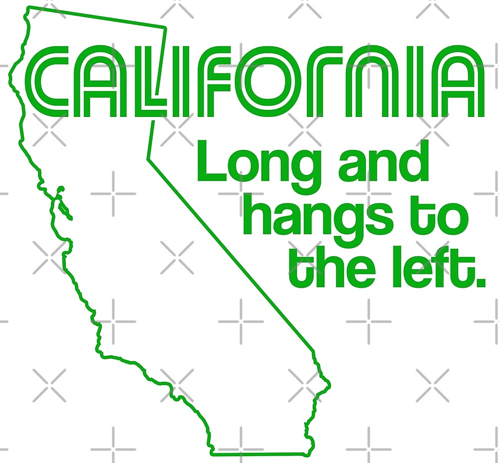 California Is for Lovers...of California by xanaduriffic