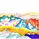 Colorful Mountains Design by ShaMiLaB