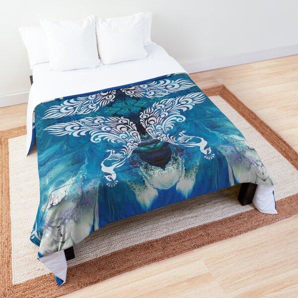 Peacock Comforter