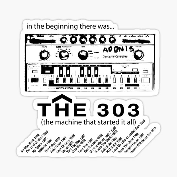 The 303 FACTS!!! Sticker