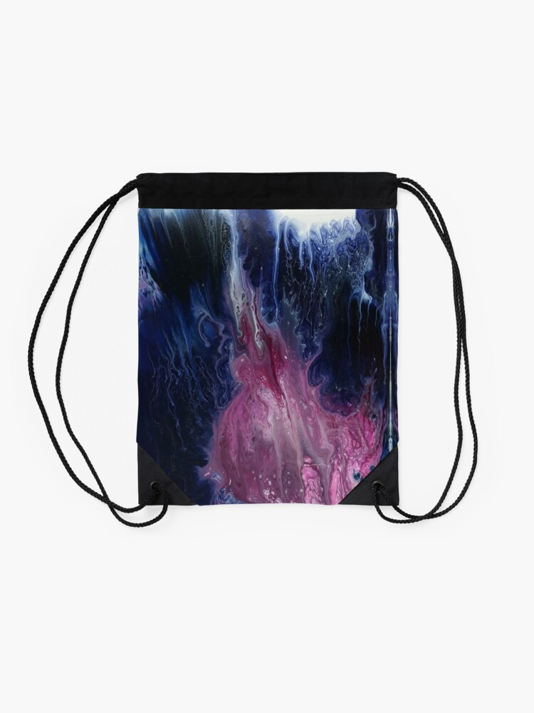 Alternate view of Phantasm: monster art Drawstring Bag