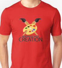Weapons of mass creation - Red T-Shirt