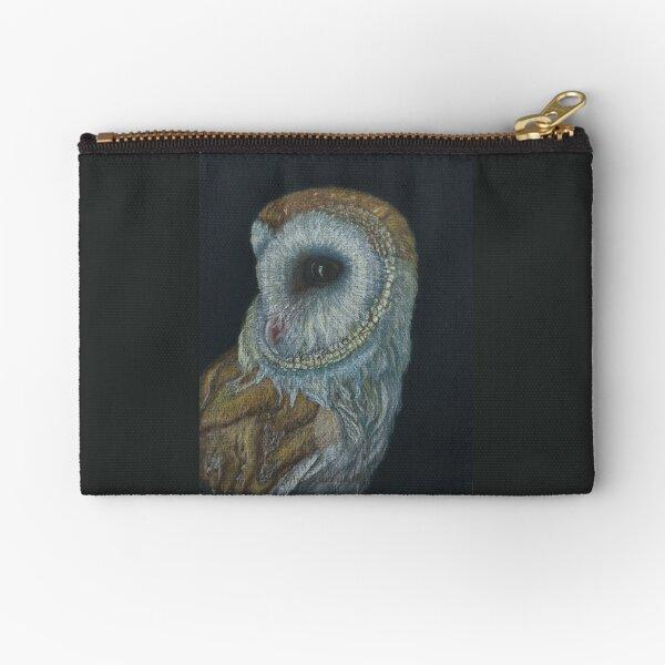 Owl 2 left Zipper Pouch