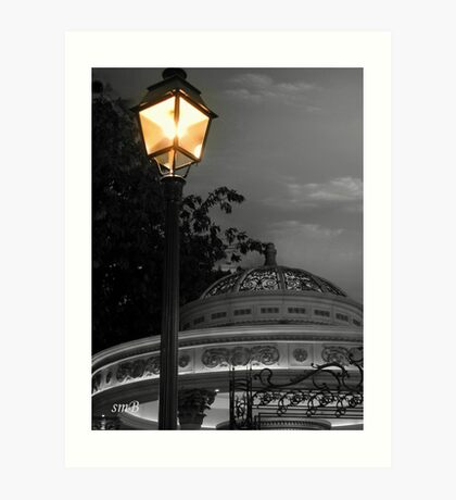 Evening At The Bandstand Art Print