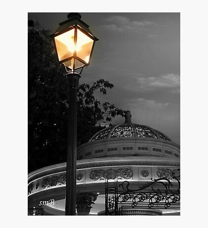 Evening At The Bandstand Photographic Print