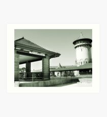 Riverside IL Train Station Art Print